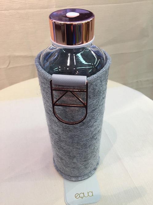 Equa Glasflasche mit Filzhülle