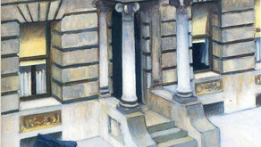 """New York Pavements"" - Edward Hopper"