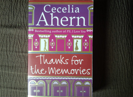 Thanks For The Memories, Cecelia Ahern,