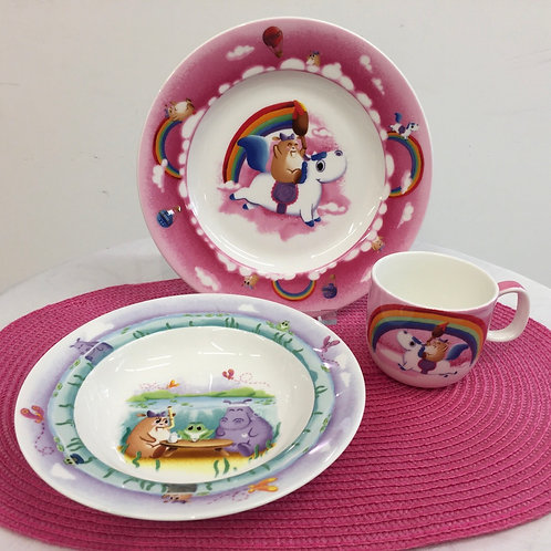 Villeroy & Boch / Kinderset 3 tlg. Girls