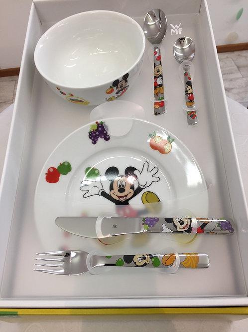 WMF Kinderset 6 tlg. Mickey Mouse
