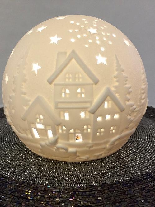 LED Weihnachtskugel