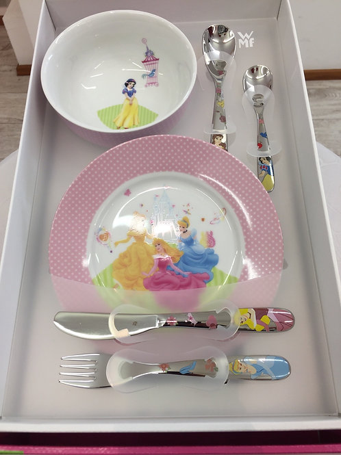 WMF Kinderset 6 tlg. Disney Princess