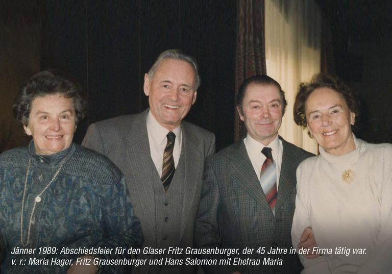 Abschiedsfeier 1989