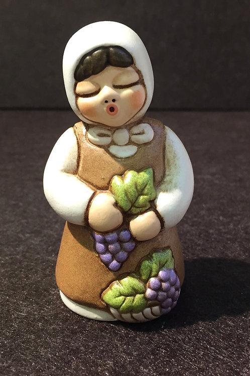 Thun / Frau mit Weintrauben