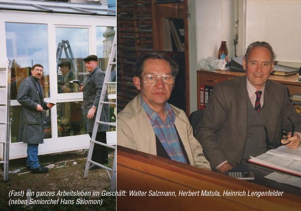 Glaser mit Hans Salomon sen.