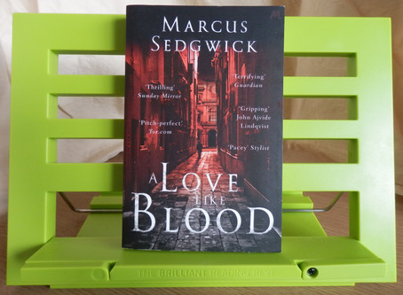 A Love Like Blood, by Marcus Sedgwick