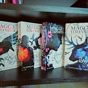 The Raven Cycle, by Maggie Stiefvater