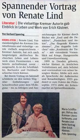 """Vortrag """"Erich Kästner"""""""