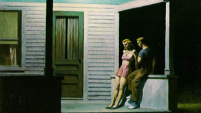 """""""Summer Evening"""" - Edward Hopper"""