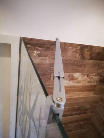 Walk-In-Dusche und Folierung in Wunschmotiv