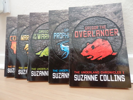 The Underland Chronicles, by Suzanne Collins.