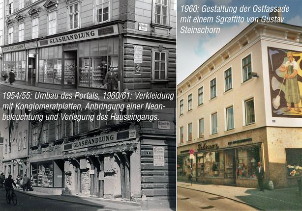 Umbauten ab 1955