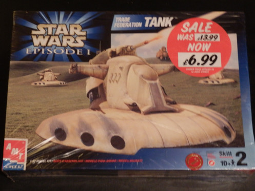Star Wars Episode 1 Trade Federation Tank