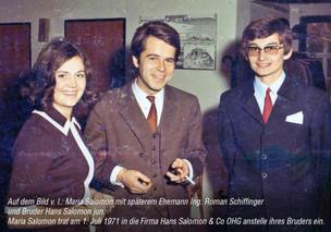 Familienbild mit Hans Salomon jun.