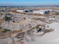 Concrete Crushing Site