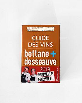 Guide Bettane et Desseauve 2018