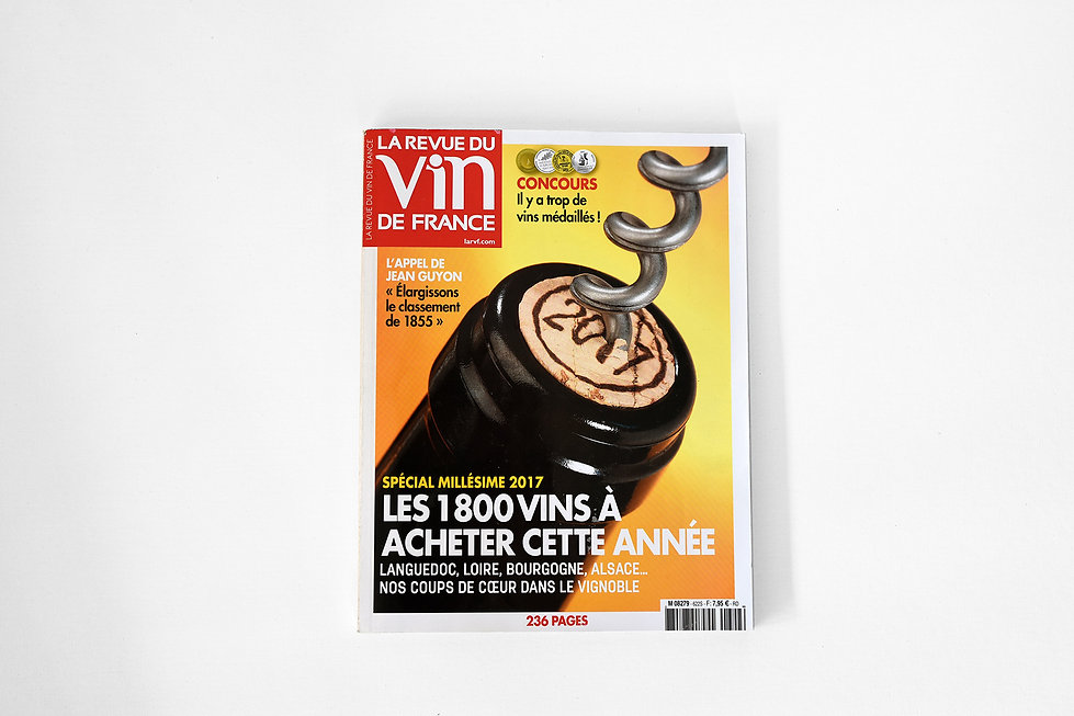 Parution La Revue du Vin de France