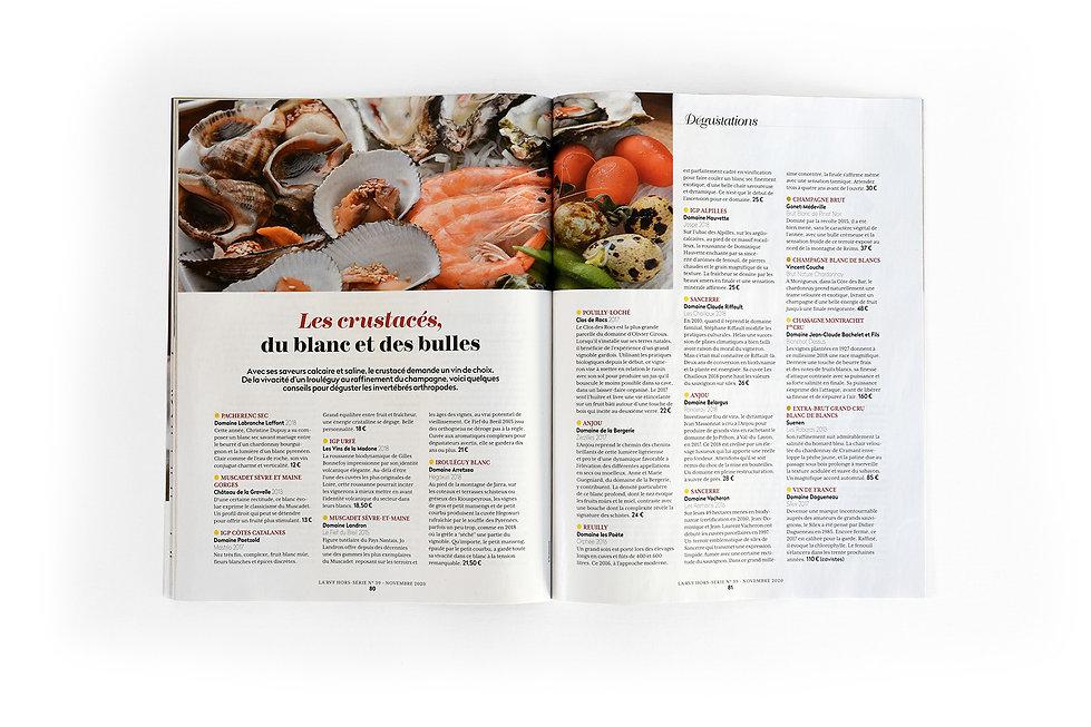 La revue du Vin de France - Hors Série - Novembre 2020