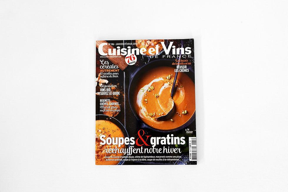 Parution Cuisine et Vins
