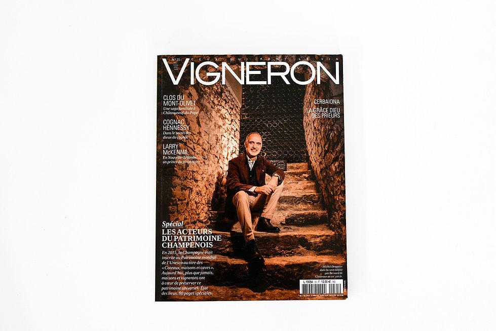 Parution presse Vigneron
