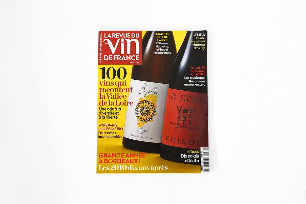 Parution presse - La Revue du Vin de France