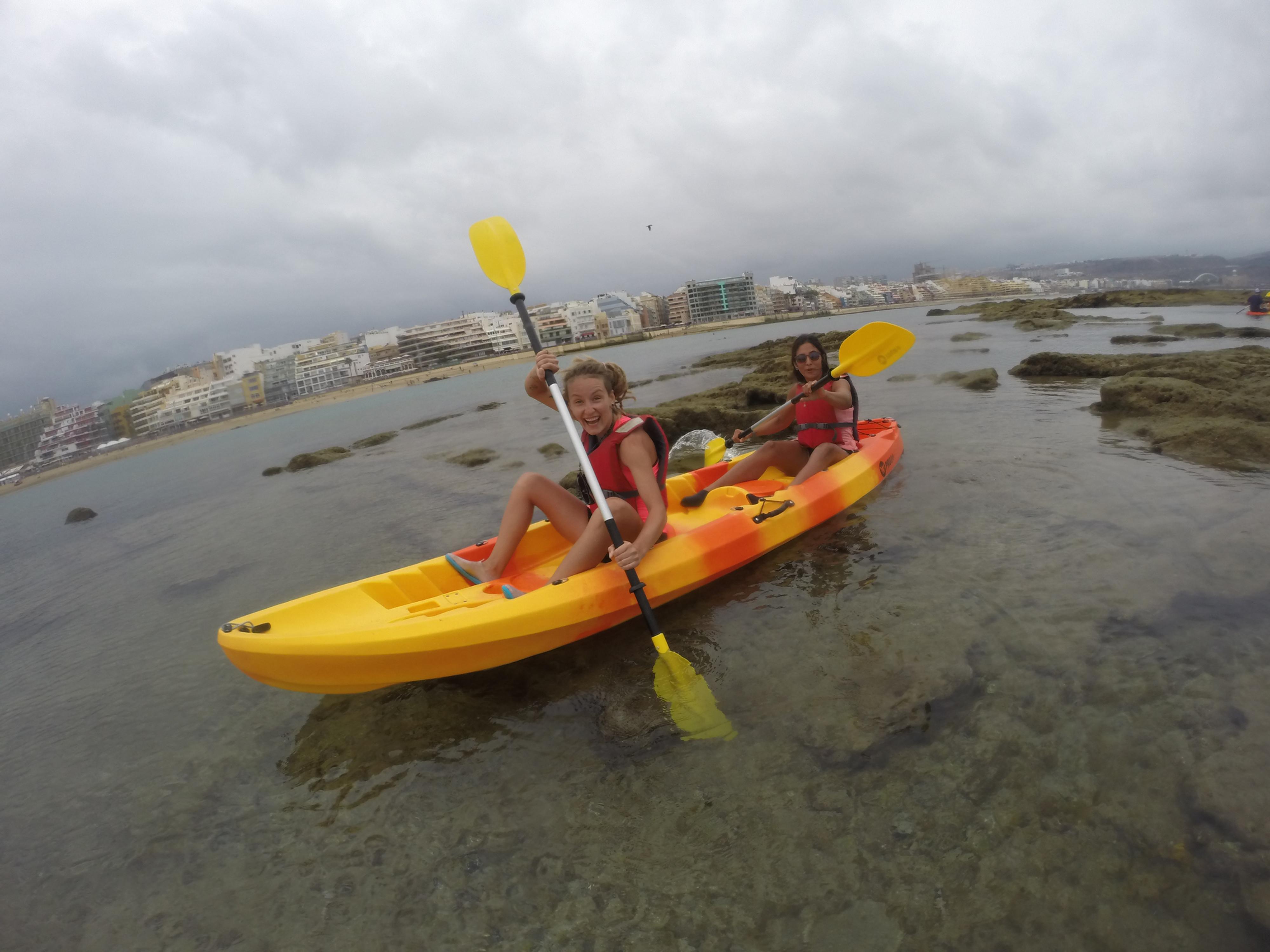 Alquiler de kayak doble 30 min.