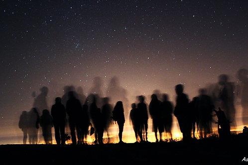 | SENDERISMO + SESIÓN DE ASTRONOMÍA