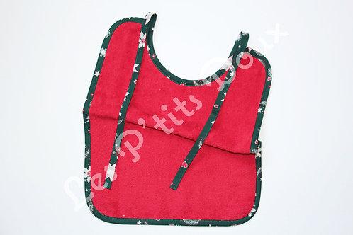 Bavoir Noël Rouge