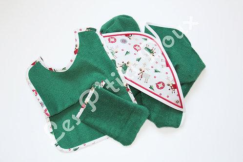 Parure Noël Vert Sapin