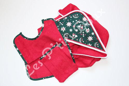 Parure Noël Rouge