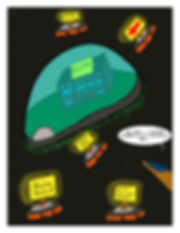 Box and Slime webcomic posts every Monay and Friday; NIFM HQ