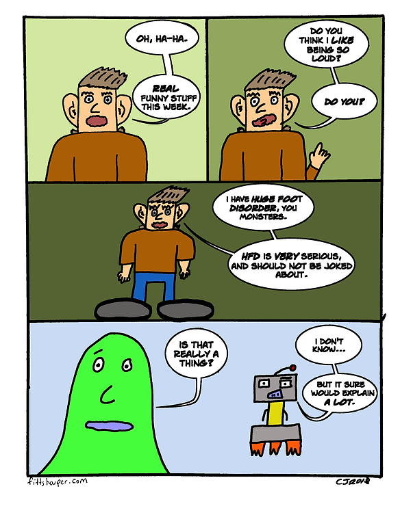 Box and Slime webcomic posts every Monay and Friday. HFD, Bro is this week's humorous, scifi comic strip.