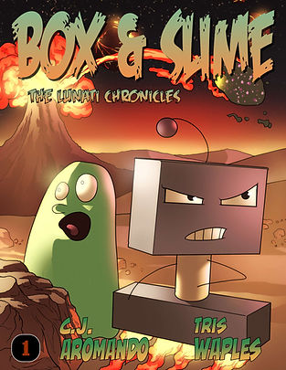 Box & Slime, Box and Slime, Lunati Chronicles, Graphic Novel, Comic, Webcomic, Scifi, Humor
