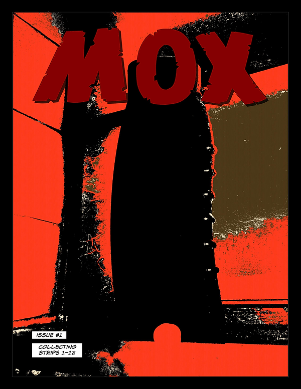 Mox webcomic posts every Monay and Friday; Title