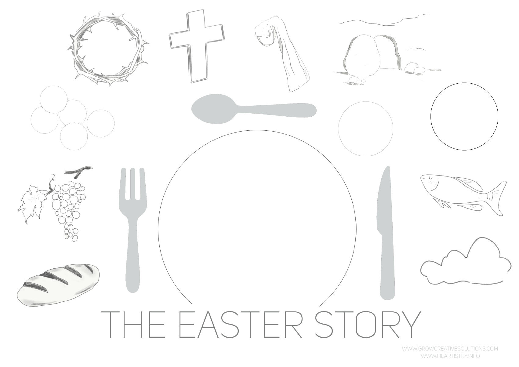 Easter Placemat for kids