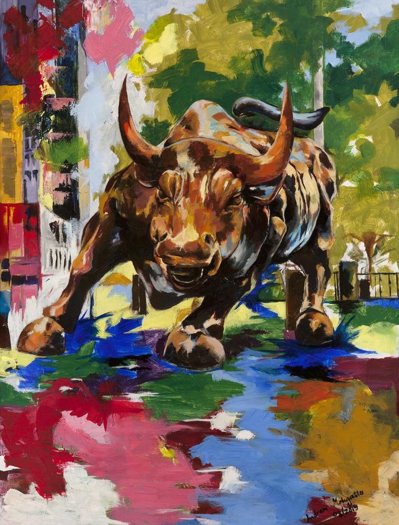 Andrew Mokgatla Raging Bull series