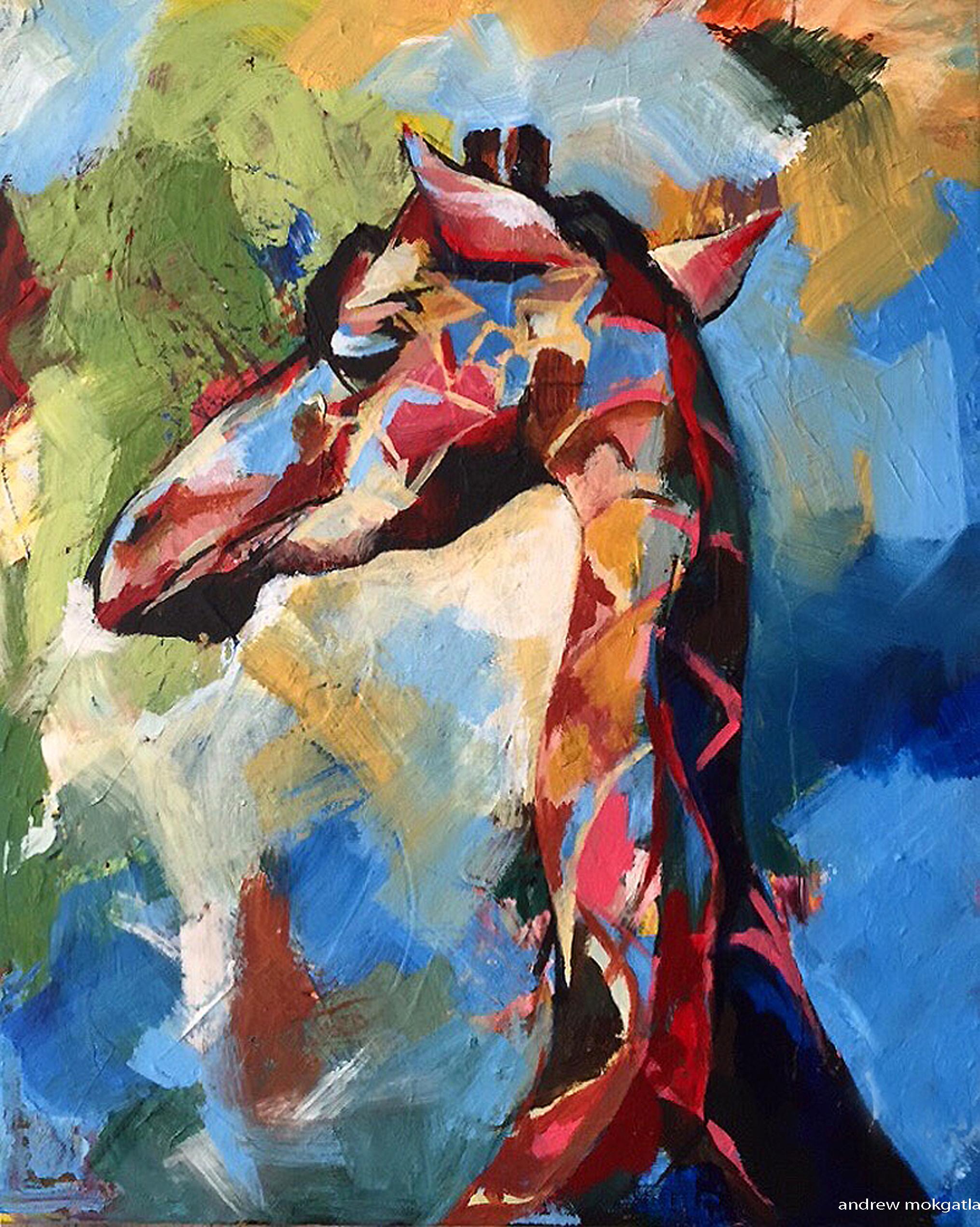 Andrew Mokgatla  Giraffe