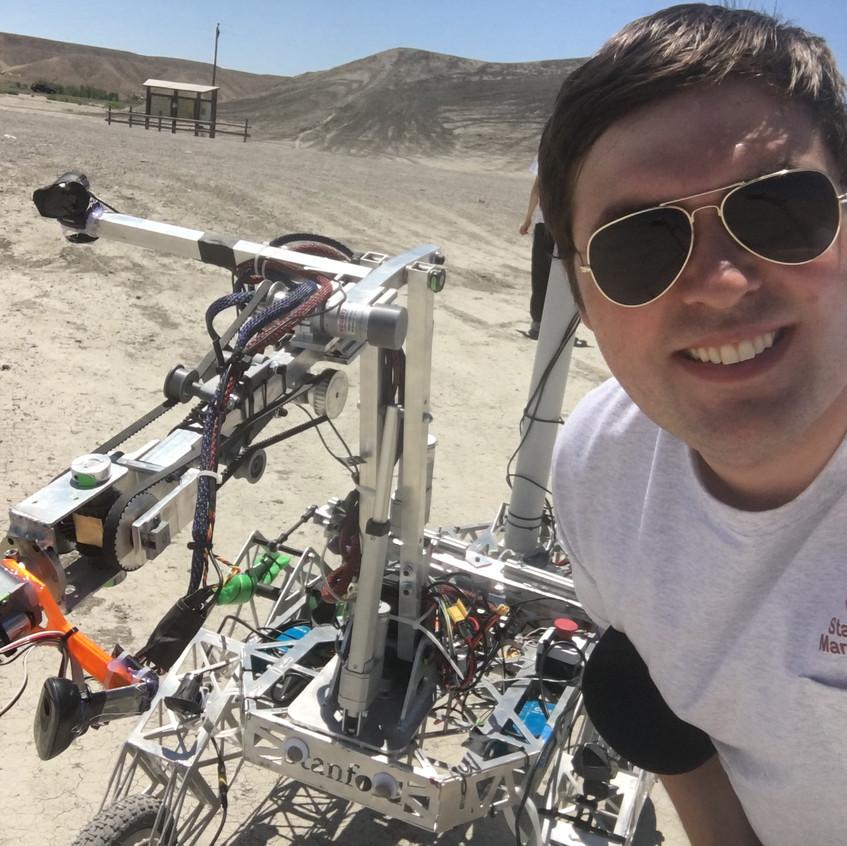 Obligatory Robot Selfie