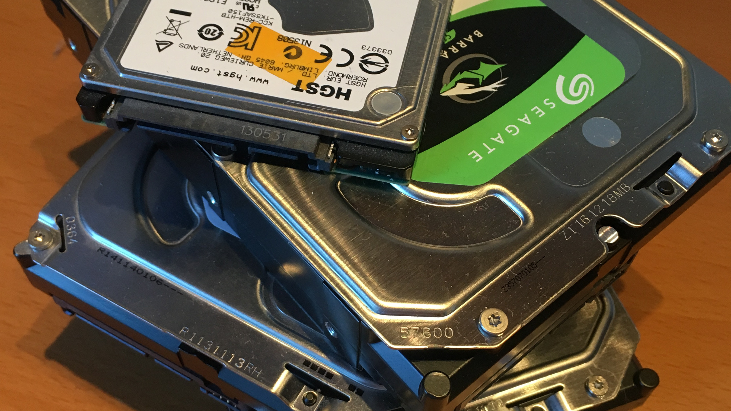 Pile of Drives