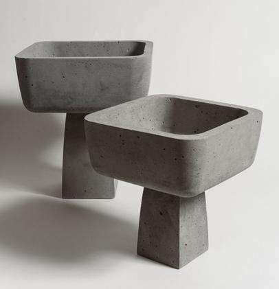 Alenters: pedestais, pias batismais e móveis ritualísticos na Maison & Objet