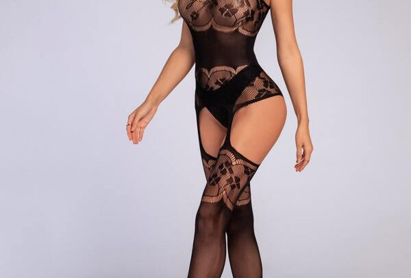 Your Deepest Fantasy Fishnet Suspender Bodystocking