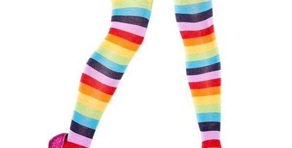 Thigh Hi Rainbow Socks