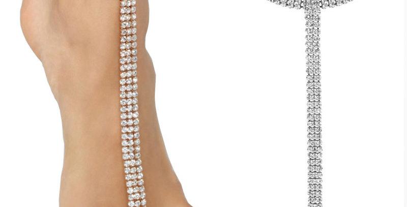 Rhinestone Ankle Bracelet