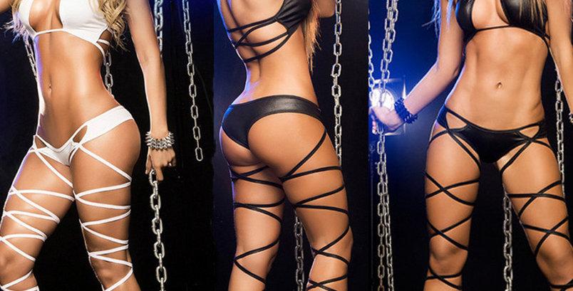 Super Sexy Bra and Panty 4 Piece Set