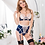 Thumbnail: Plus Size Showing My Love Bra & High Waist Garter Set