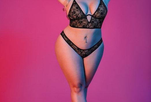 Sexy Time Bralette & Panty Set