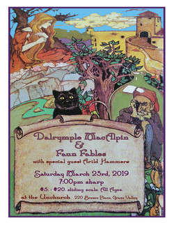Dalrymple MacAlpin & Faun Fables - The Unchurch, Grass Valley