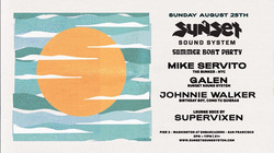 SUMMER BOAT PARTY 2019