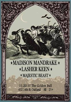 Lasher Keen - The Golden Bull, Oakland
